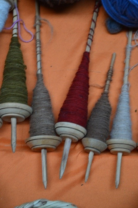 Modern Andean Spindle Whorls