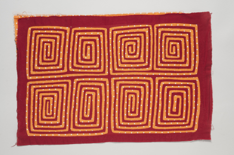 <em>Dulemola</em> (Blouse Panel) with Geometric Patterns