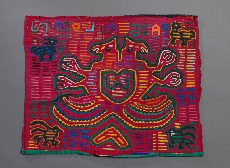 <em>Dulemola</em> (Blouse Panel) with Double-Headed Eagle