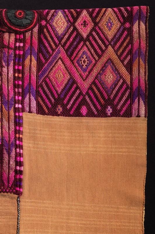 <p>Ceremonial <em>Huipíl</em>(Blouse) with <em>Cuyuscate</em>(Natural Brown Cotton)<br /><br /></p>