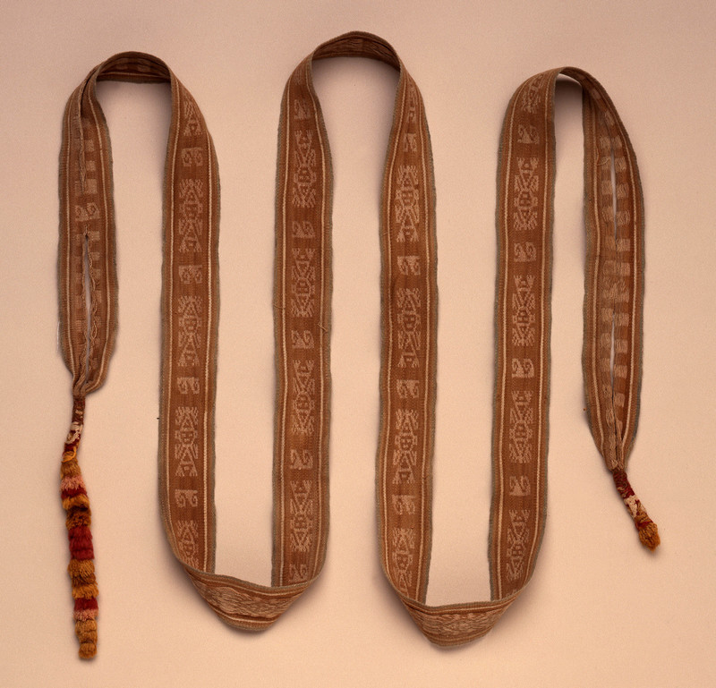 Ancient Andean Belt with Tassels