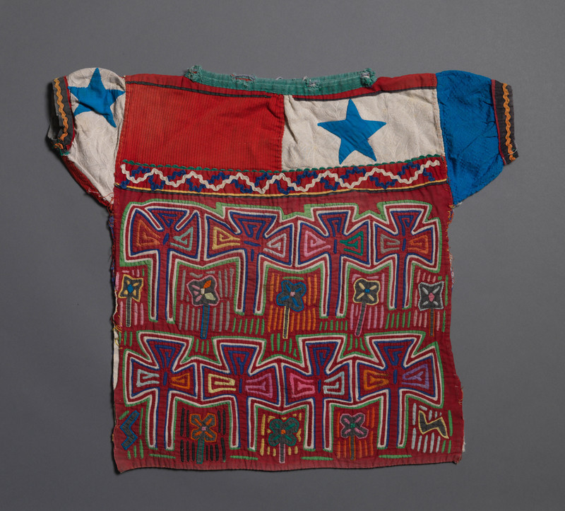Blouse with the Panamanian Flag