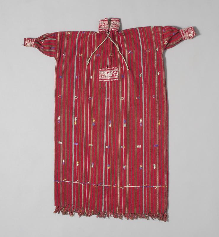 Red <em>Camisa</em> (Shirt) for a Male Saint Effigy