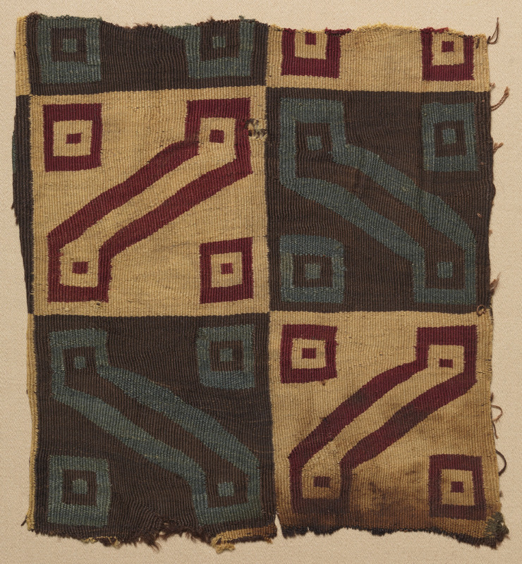"""Inka Key"" Tunic Fragment"