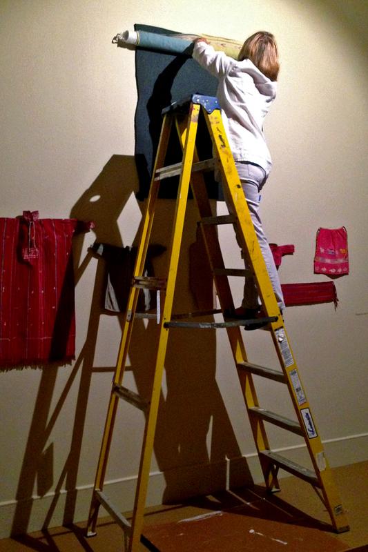 Patricia Hanging <em>Tzut</em>