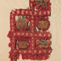 Red Tasseled Tunic Fragments