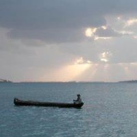 Dugout in San Blas Islands