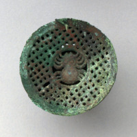 Earspools with Spider Motif