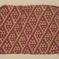Textile Fragment with Interlocking Snakes